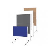 PANOU PREZENTARE MGN MOBIL PLIABIL 1200 x 1500 mm, dubla fata albastra, 2111303