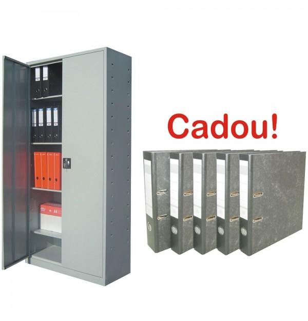 FISET METALIC CU 4 RAFTURI ECO+, 900x400x1800 mm+10 Bibliorafturi Cadou!