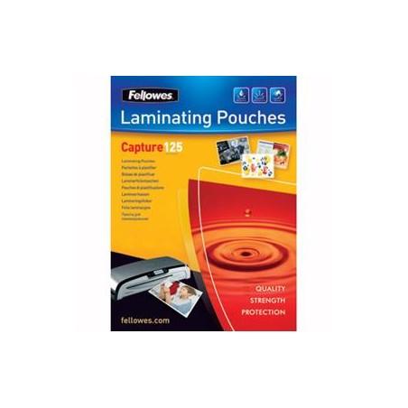 FOLIE LAMINARE 65x95 mm FELLOWES, 125 microni