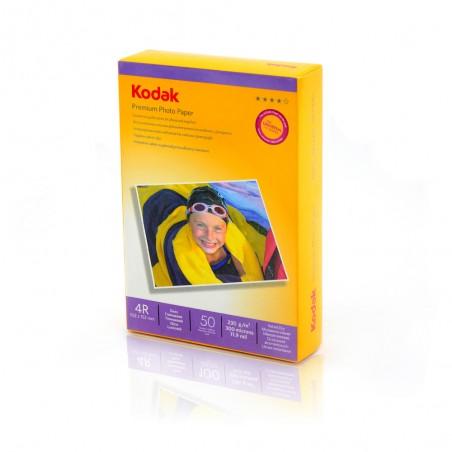 HARTIE FOTO KODAK, 230 g, 10x15cm, High Glossy, 50 coli