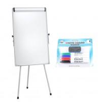 FLIPCHART MAGNETIC 70x100 cm +Plus Office + CADOU! (Set 4 markere+burete)