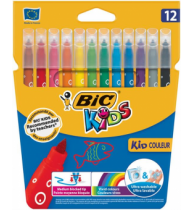 Markere colorate BIC Kid Couleur