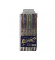 PIX CU GEL SCLIPICI, 6 culori/set