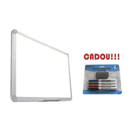 TABLA MAGNETICA SMART 90x60 cm + CADOU!!! (SET 4 MARKER WHITEBOARD + BURETE)