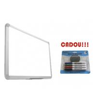TABLA MAGNETICA SMART 150X100 cm + CADOU!!! (SET 4 MARKER WHITEBOARD + BURETE)