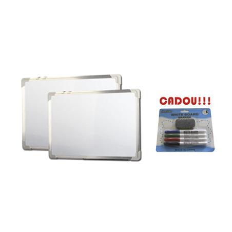 TABLA ALBA MAGNETICA 200x100 cm rama aluminiu + CADOU!!! (SET 4 MARKER WHITEBOARD + BURETE)