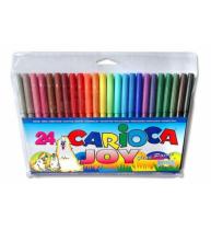 Markere Carioca Joy, varf 2 mm, 24 culori/cutie