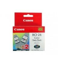 CARTUS CANON BCI-24C TWIN color
