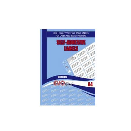 ETICHETE AUTOADEZIVE COLOR OFFICE, 1/A4, 100 coli/top, colturi drepte