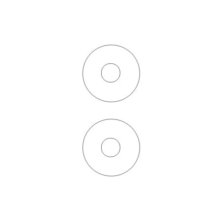 ETICHETE XEROX AUTOADEZIVE PENTRU CD