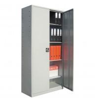 Dulap metalic Eco I A177, metal, gri deschis, 2 usi, 90 x 40 x 180 cm