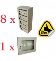 PACHET: 8x CUTIE POSTALA SCARA BLOC 5 MODULE + 1x AVIZIER SCARA BLOC, Extra