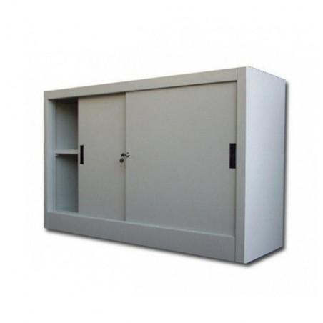 DULAP METALIC USI GLISANTE CU 1 RAFT, 1500x600x900 mm (LxlxH), 40 kg/polita, Italia