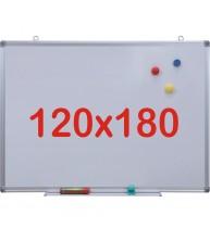 Tabla alba magnetica, 120x180 cm Premium
