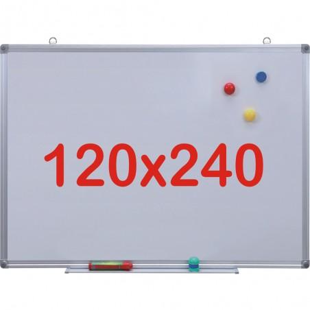 Tabla alba magnetica, 120x240 cm Premium