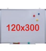 Tabla alba magnetica, 120x300 cm Premium