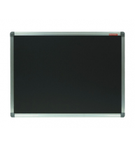 TABLA CRETA NEAGRA MAGNETICA 100x150 cm MEMOBOARDS, rama aluminiu