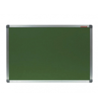 TABLA CRETA VERDE MAGNETICA 100x200 cm CLASSIC MEMOBOARDS, rama aluminiu