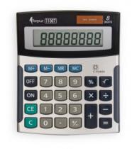 CALCULATOR 8 DIG FORPUS 11007