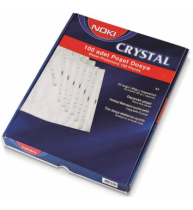 Folie Protectie A4 Cristal 100/set 45 microni Noki