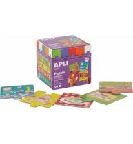 Puzzle educativ Apli, cu tema acasa, 24 de piese