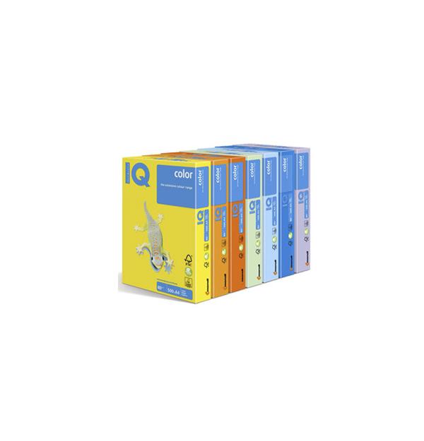 HARTIE COLOR IQ COLOR A4, 80 g/mp, culori pastel