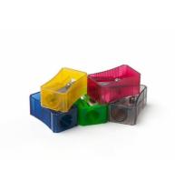 Ascutitoare Plastic Simpla Culori Fluorescente Faber-Castell