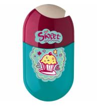 Ascutitoare Cu Radiera Cupcake Faber-Castell