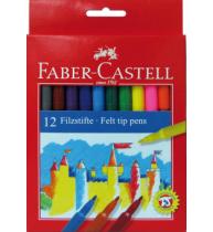 Carioci 12 culori Faber-Castell