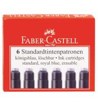 Cartuse Cerneala Mici Albastre 6 Buc/Cutie Faber-Castell