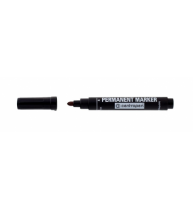 Marker Permanent Negru Varf Rotund 2.5 mm 8566 Centropen
