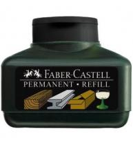 Refill Marker Permanent Grip Negru Faber-Castell
