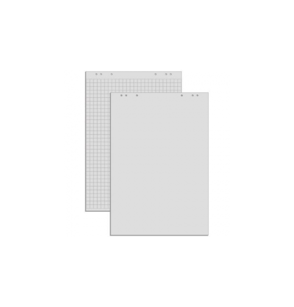 Hartie flipchart velina, 100 x 65 cm, 20 coli/top