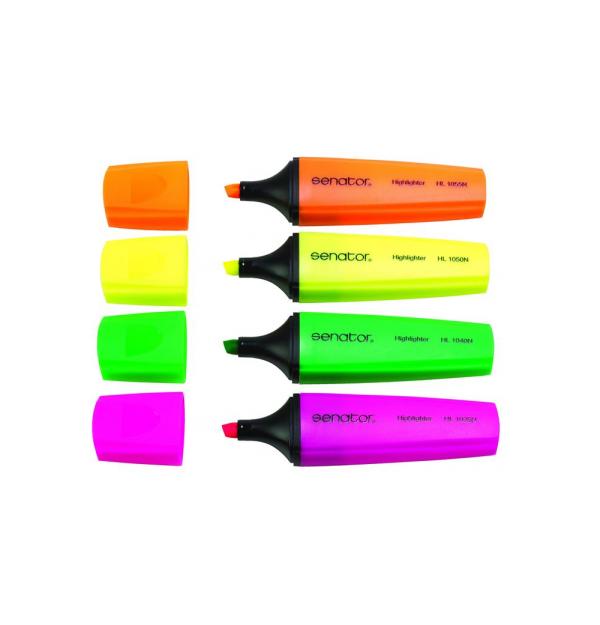 Textmarker Senator, 1-5 mm, galben