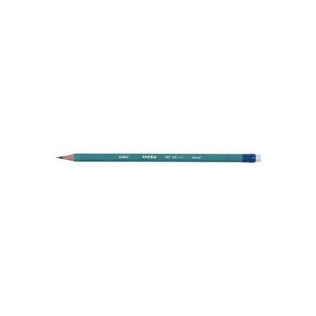 Creion grafit flexibil Bic EcoEvolution, HB, cu radiera
