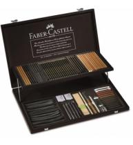 Cutie Lemn 95 Buc PITT Monochrome Faber-Castell