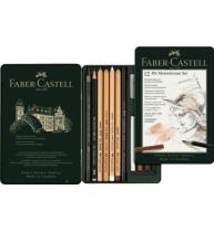 Set Pitt Monochrome 12 Buc Nou Faber-Castell