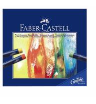 Creioane Ulei Pastel 24 Culori Faber-Castell