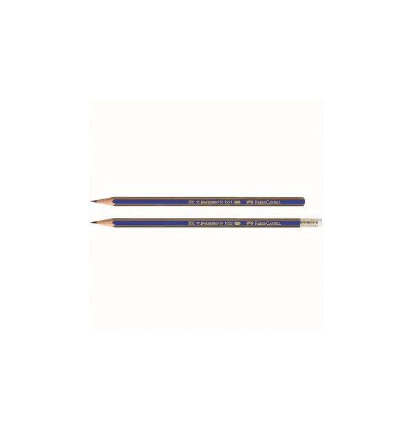 Creion grafit 5B fara guma Goldfaber 1221 Faber-Castell