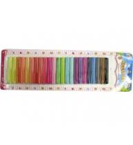 PLASTELINA BLISTER 24 culori/set