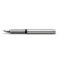Stilou Basic Metal Lucios F Faber-Castell
