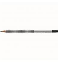 Creion Grafit B Cu Guma Grip 2001 Faber-Castell