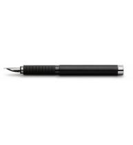Stilou Basic Black Piele F Faber-Castell