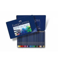 Creioane Colorate Aquarelle Art Grip 36 Culori Cutie Metal Faber-Castell