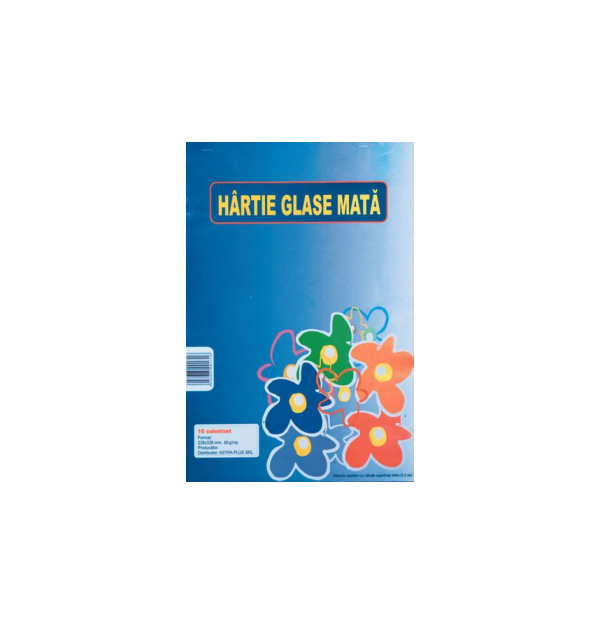 Hartie Glase, mata, 24 x 34 cm