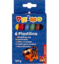 Plastilina Morocolor, 6 culori, 20 g/culoare