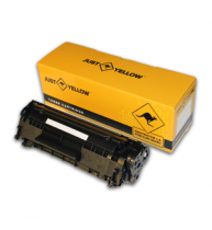 HP CB436A TONER COMPATIBIL JUST YELLOW, Black