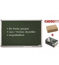 TABLA SCOLARA PT. CRETA MAGNETOPLAN 90X120 cm + CADOU!!! (Burete + 10 buc Creta)