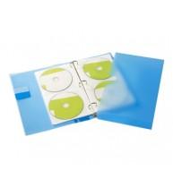 MAPA PLASTIC DUBLA PENTRU CD/DVD IN CASETA, TARIFOLD