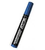 Marker permanent Bic 2300, retezat, albastru